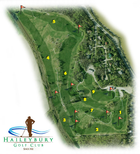 Haileybury Golf Course Layout